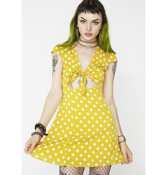 Prance Around Polka Dot Dress