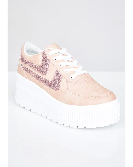 Miss Walk It Out Platform Sneakers