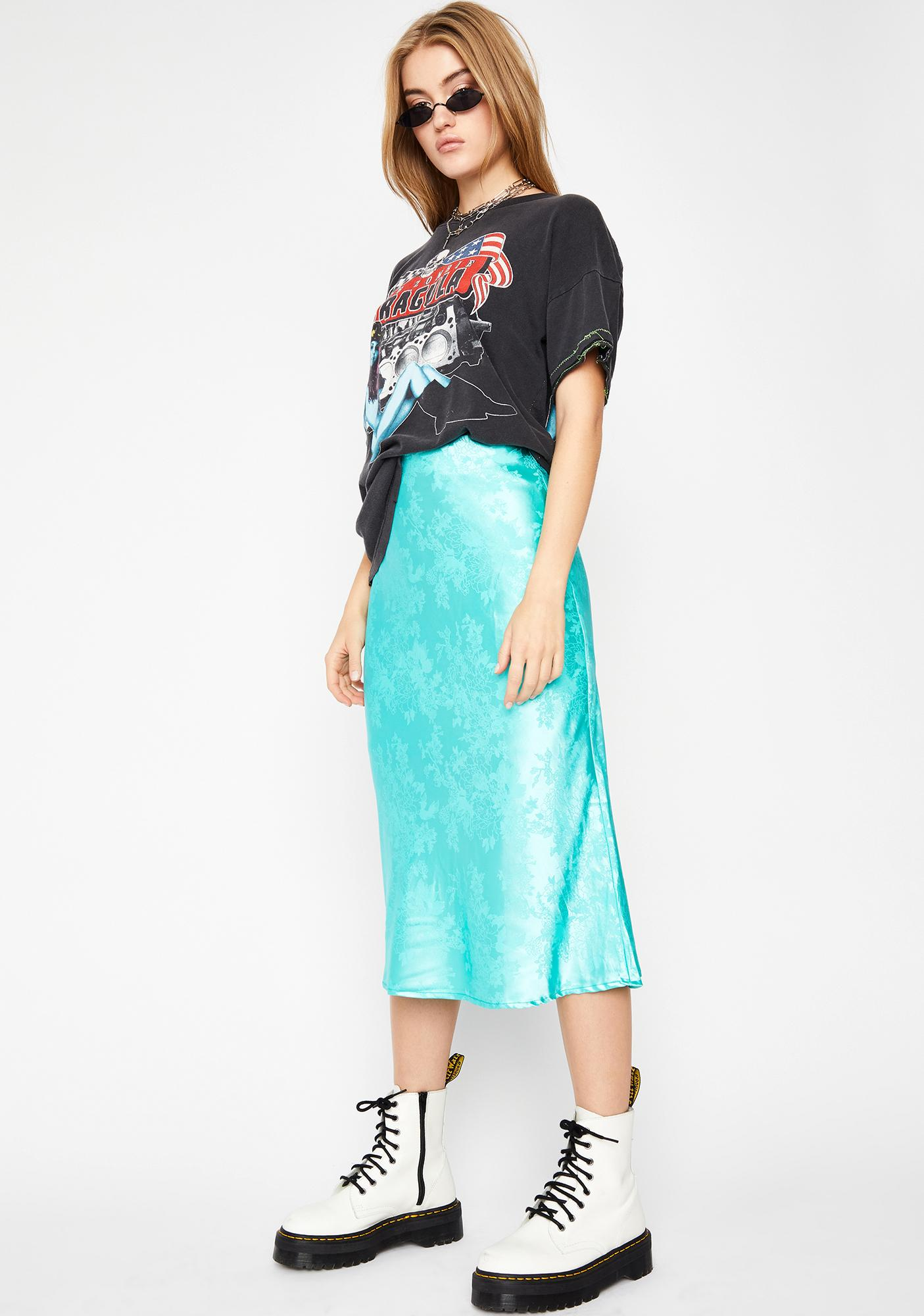 Wanna Stay Over Midi Skirt