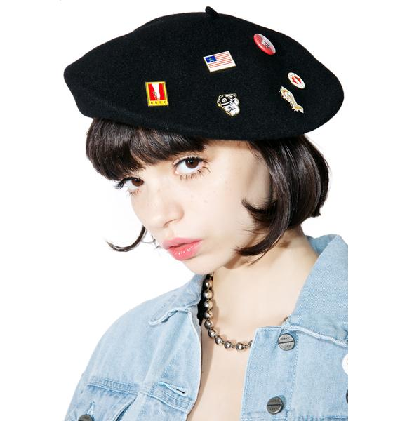 Obey Sonic Beret