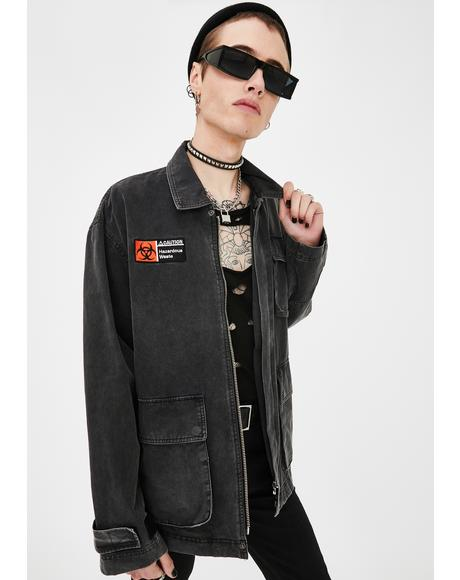 Waste Denim Jacket