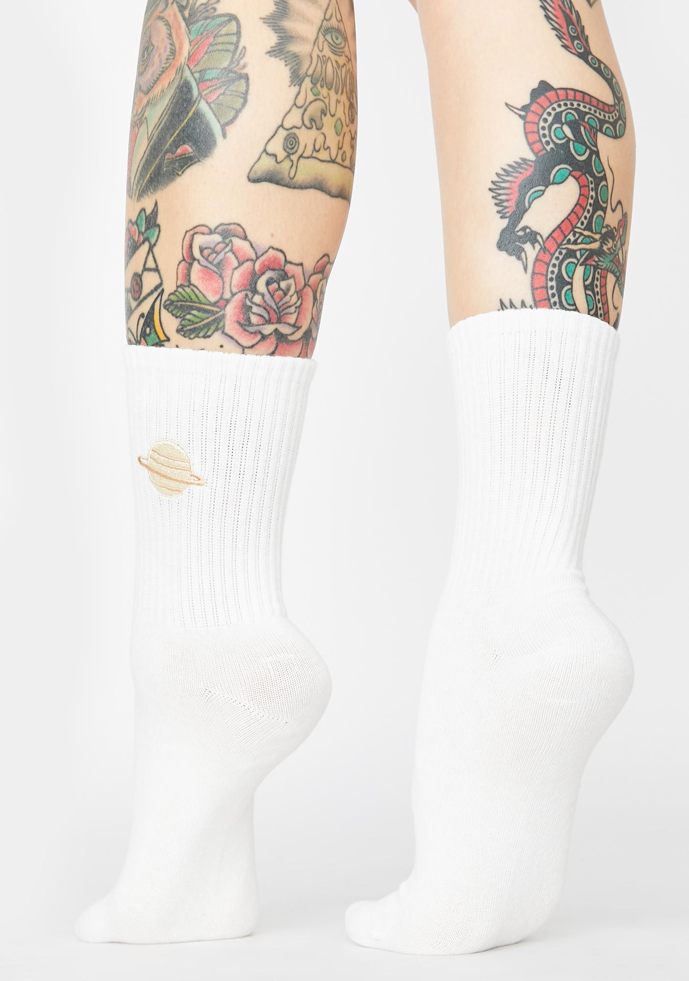 Celestial Harmony Crew Socks