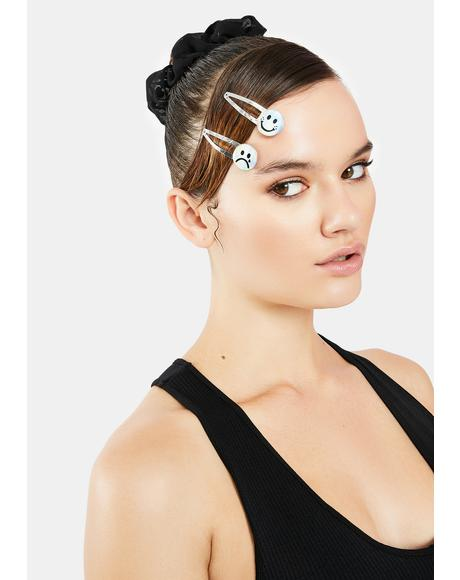 Mind Games Hair Clips