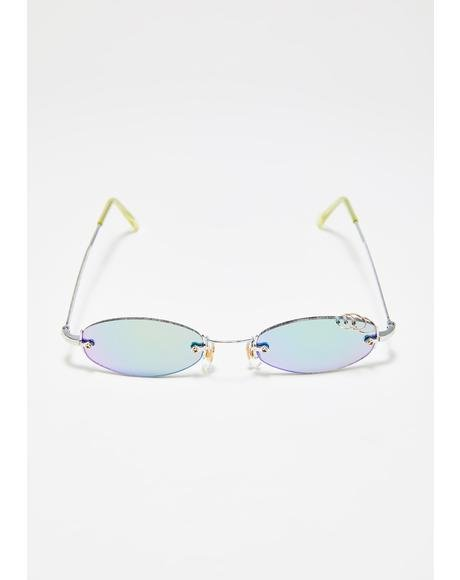 Gnarly Round Sunglasses