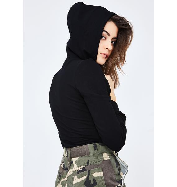 Onyx Fresh AF Hooded Bodysuit