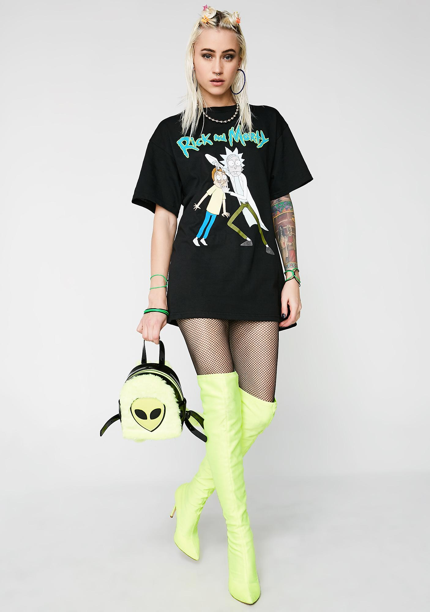 Morty Open Ur Eyes Graphic Tee