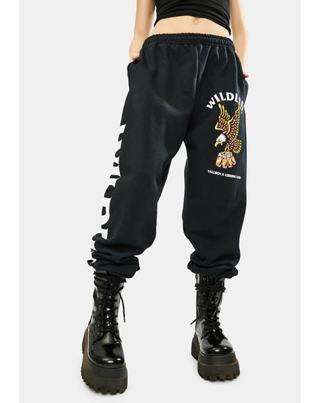 Wild Life X Tallboy Graphic Sweatpants