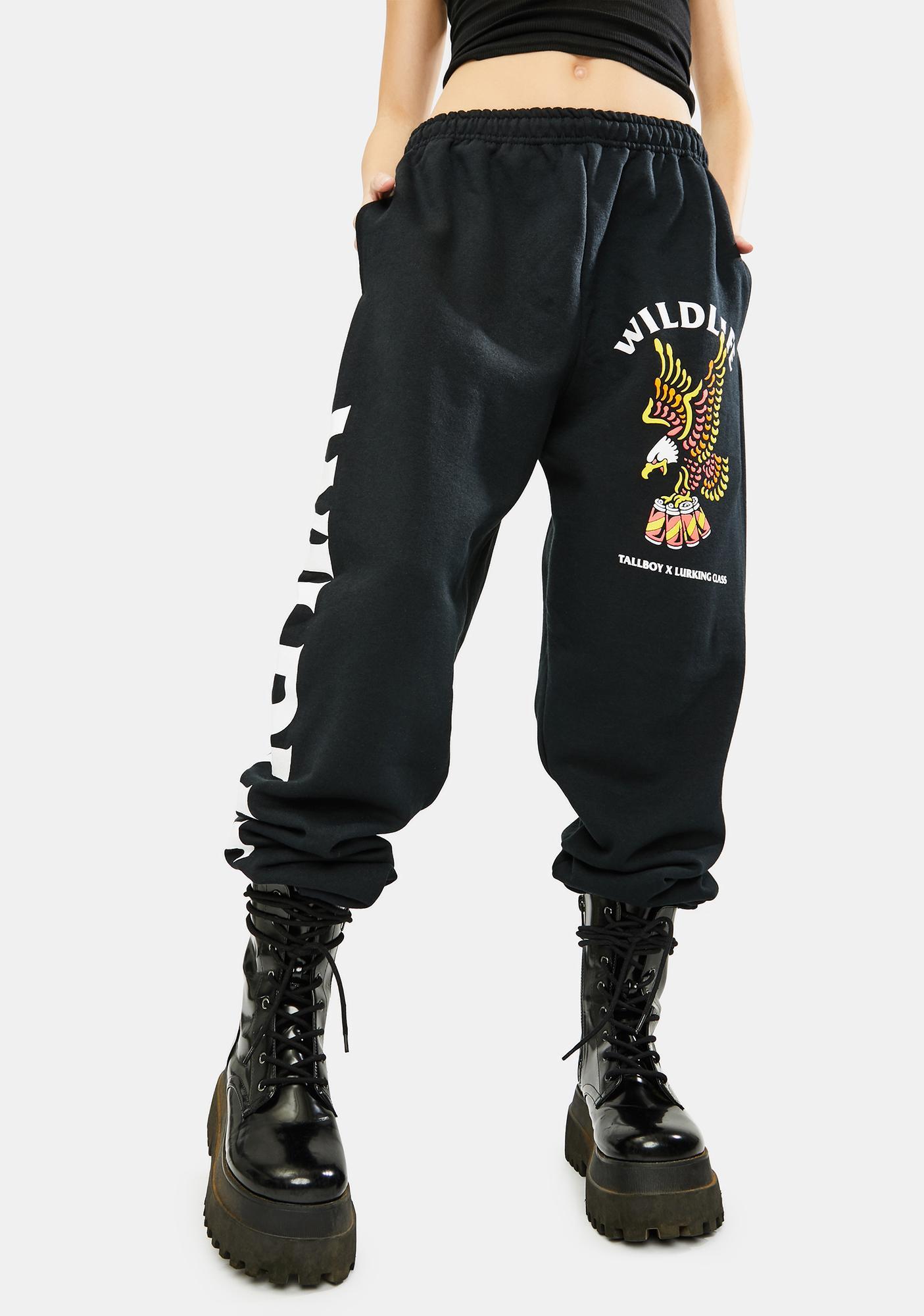Lurking Class Wild Life X Tallboy Graphic Sweatpants