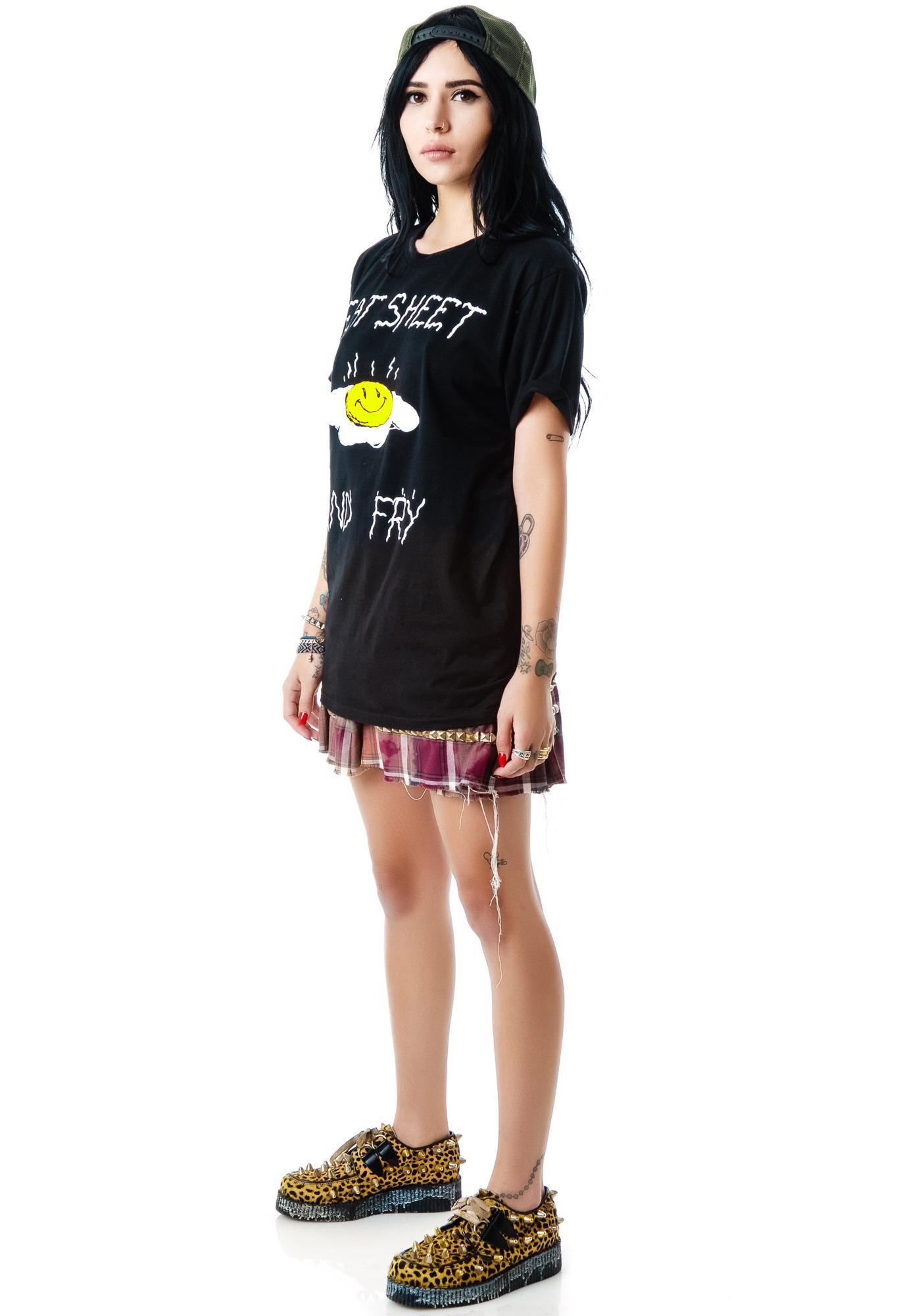 Bad Acid Eat Sheet and Fry Shirt