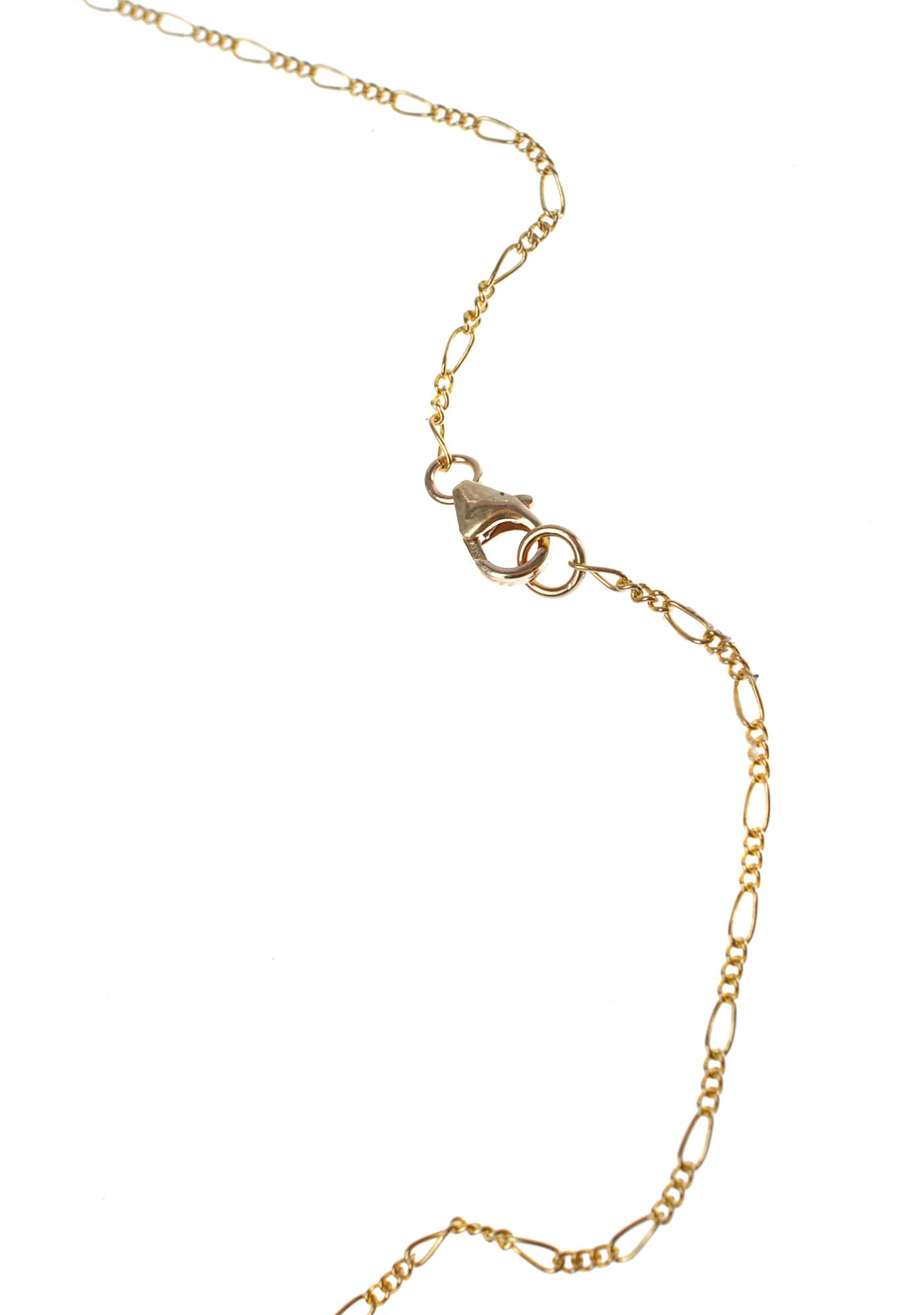 Fraiser Sterling Stoned Necklace