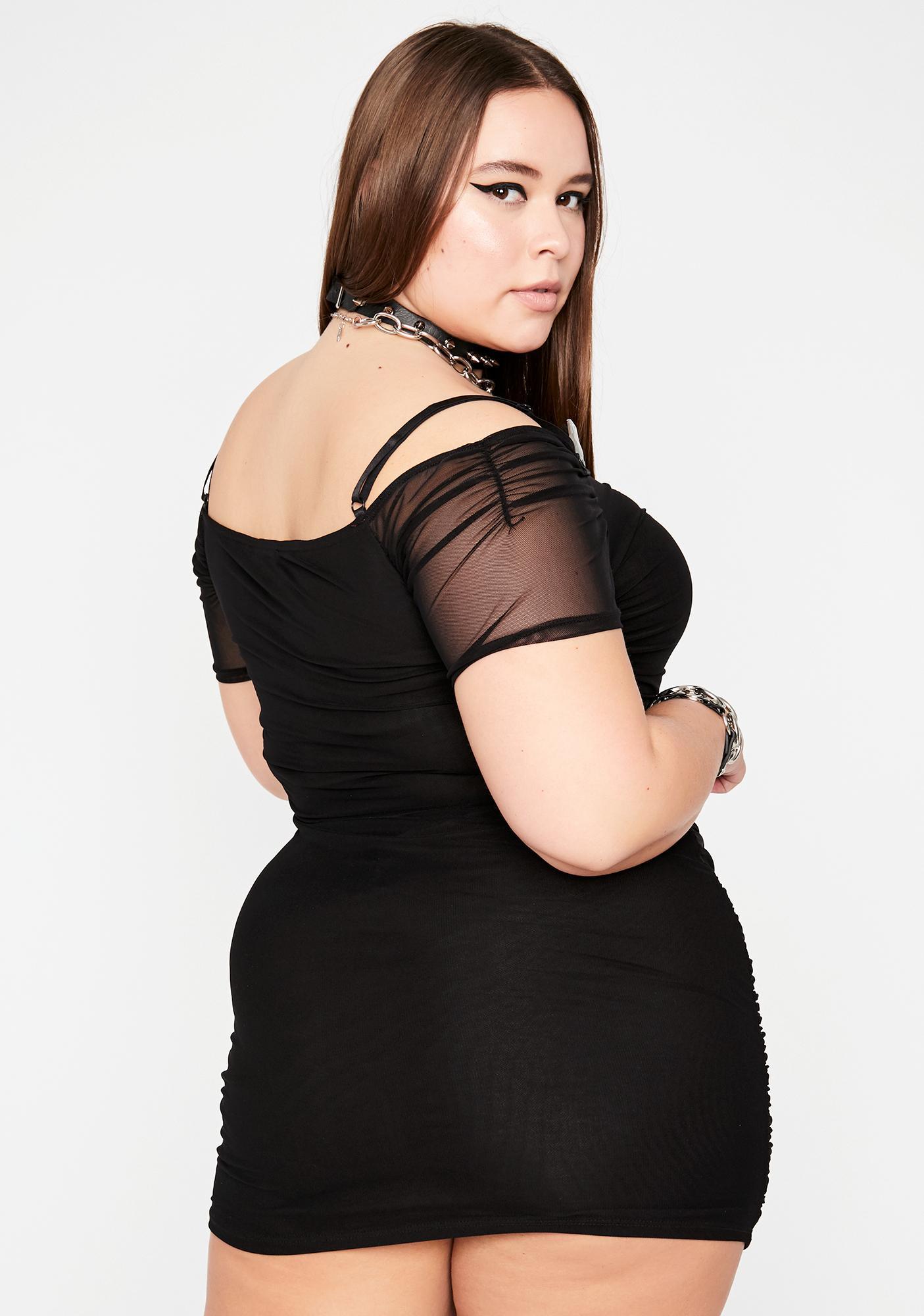 Onxy Ur Worth My Love Mini Dress