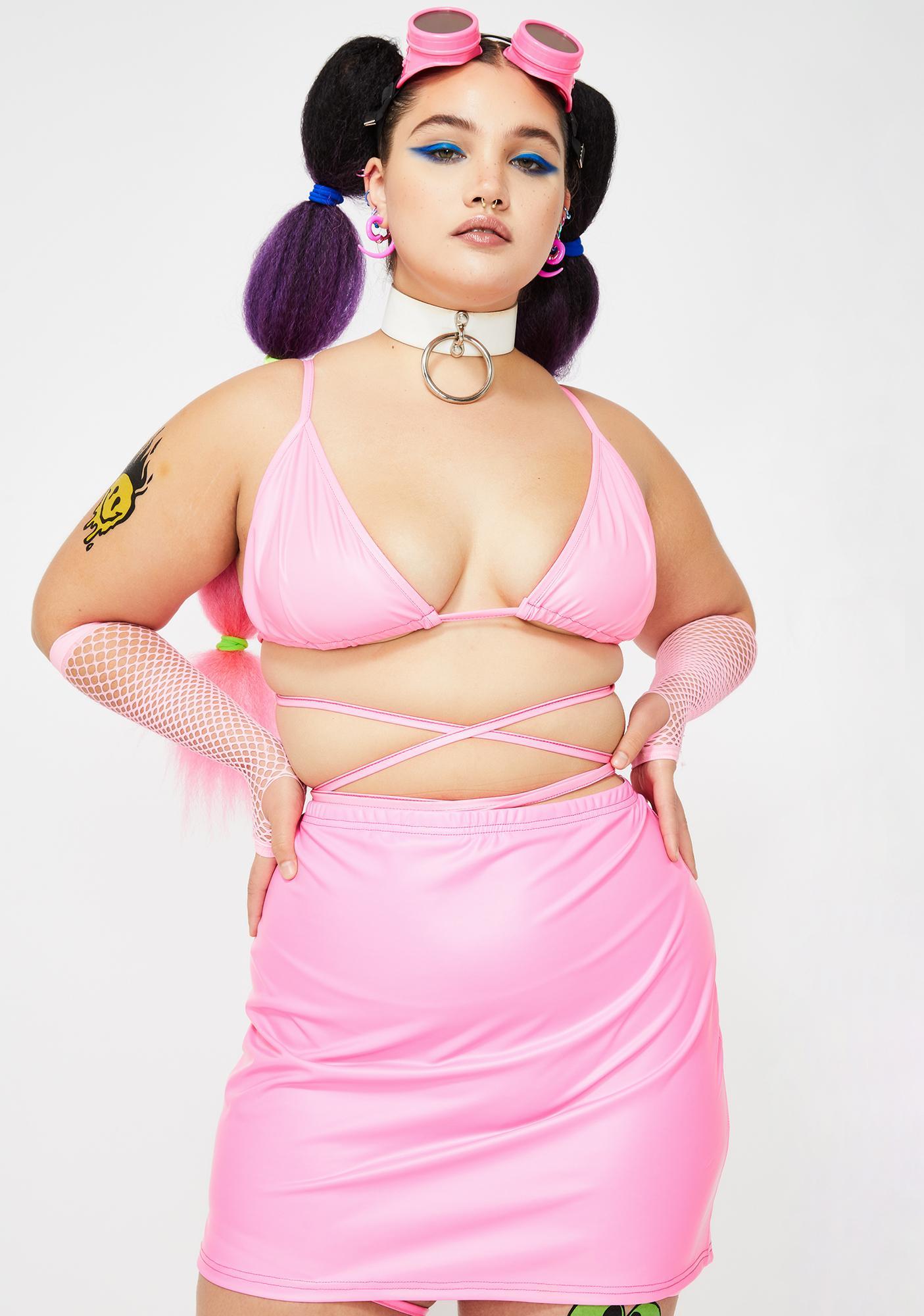 Club Exx Miss Sugar Fairy Mini Skirt