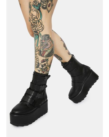 Karma X Blackout Platform Boots