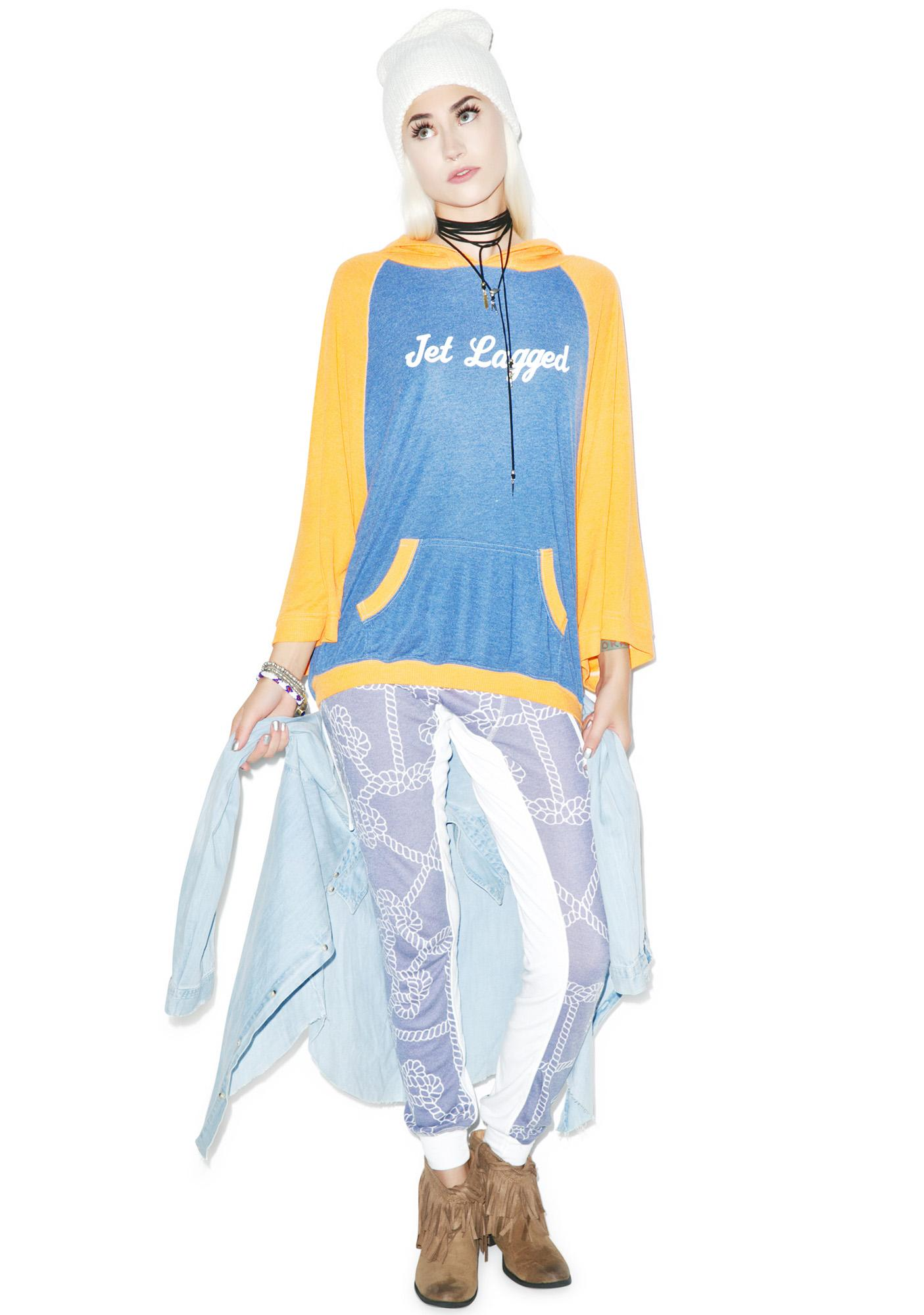Wildfox Couture Jet Lagged Beach Cover-Up Poncho