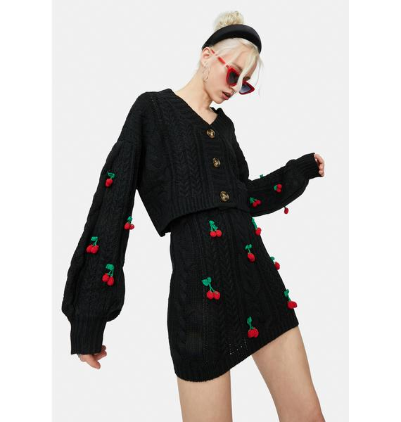 Cherry Sweet Tales Button Down Cardigan