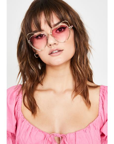 Passion Babe Heart Sunglasses