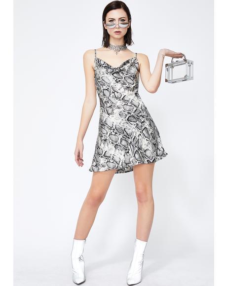 Platinum Seduce N' Destroy Mini Dress