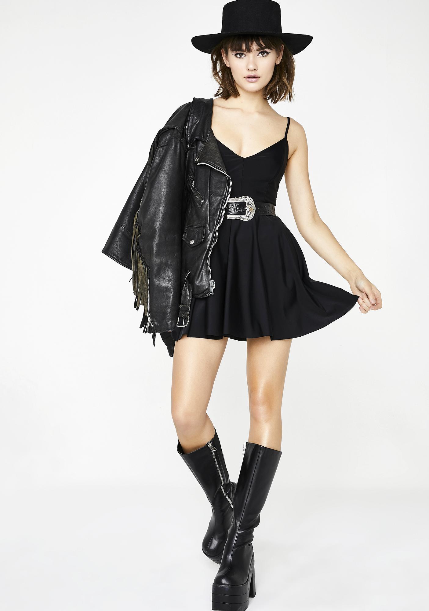 Kiki Riki Way Out West Mini Dress