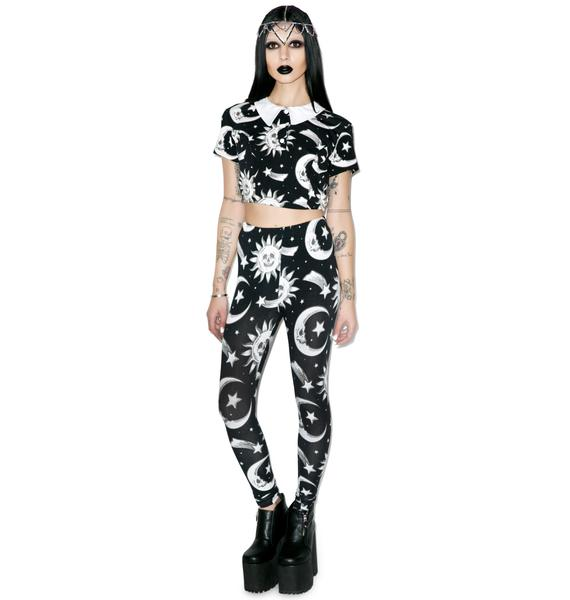 Killstar Cozmic Death Leggings