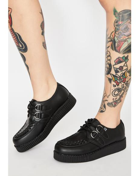 Viva II Low Lace Up Creepers