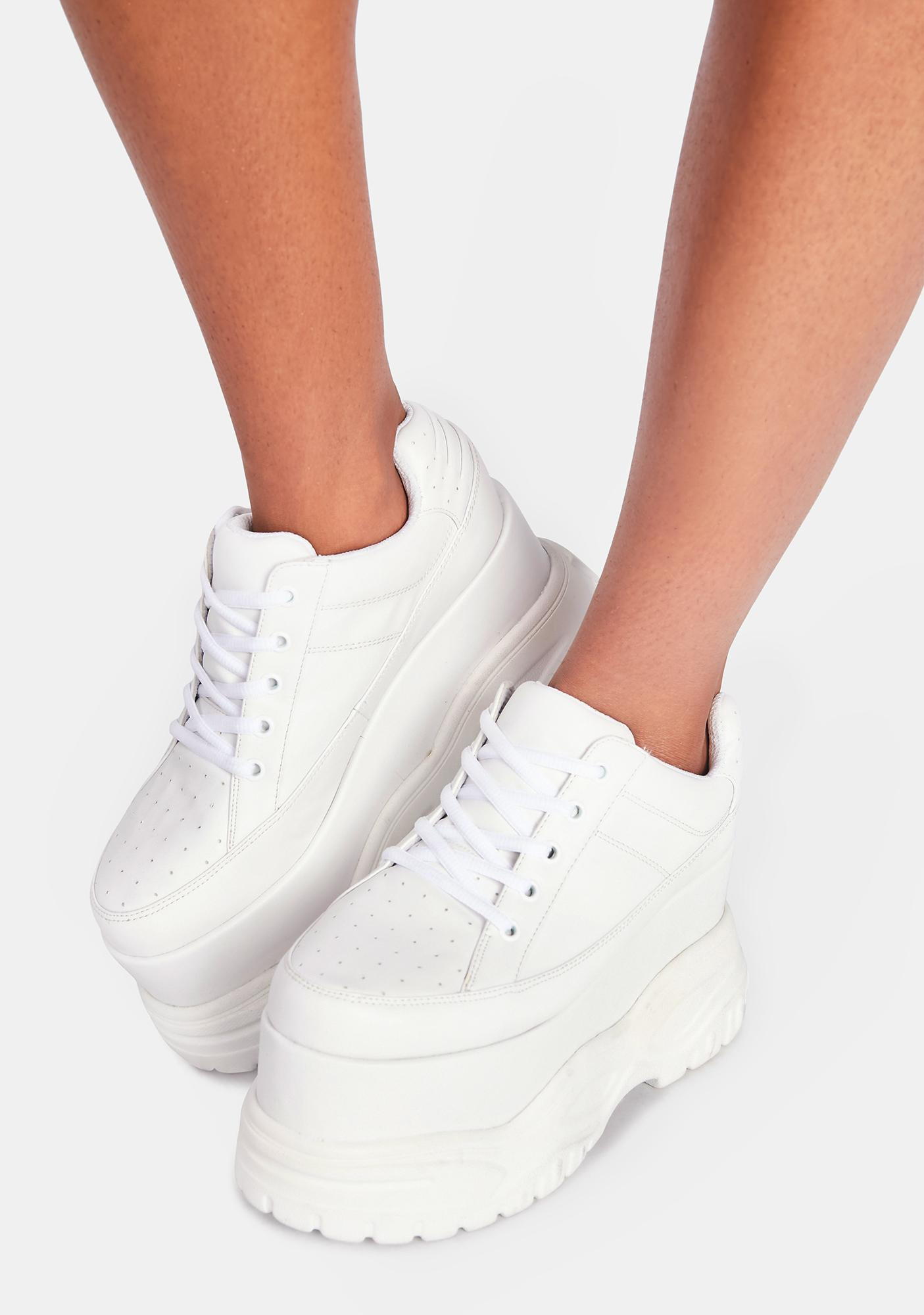 Poster Grl Pay The Bills Platform Sneakers