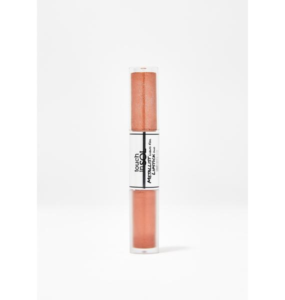 Touch In Sol Penny Metallist Liquid Lipstick Duo