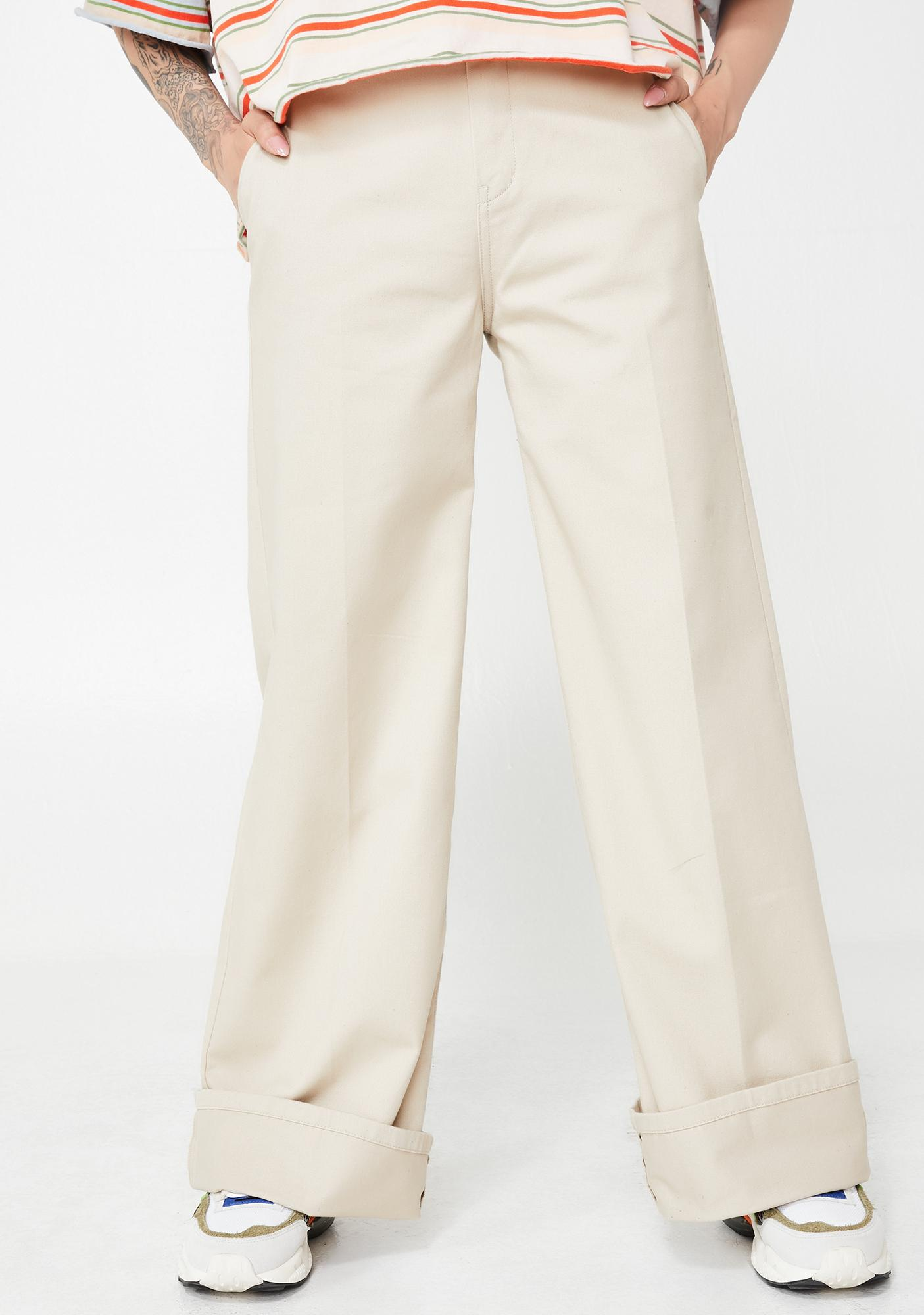 684b501eb Dickies Girl Worker Wide Leg Pants