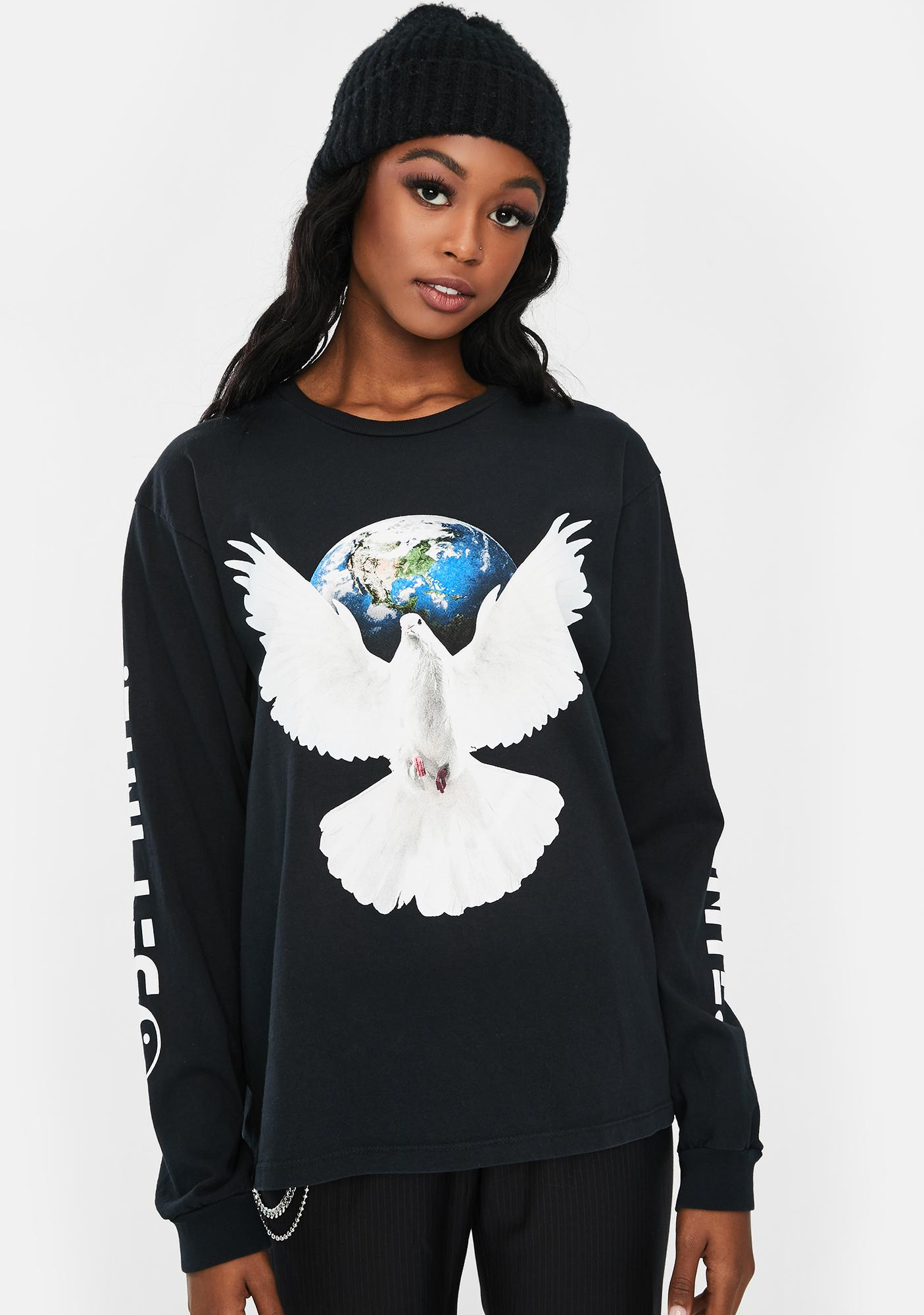 Obey Worldwide Peace Long Sleeve Tee