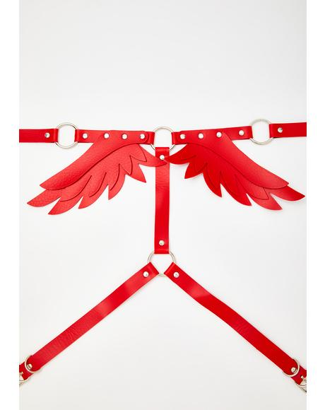 Love Like An Angel Body Harness