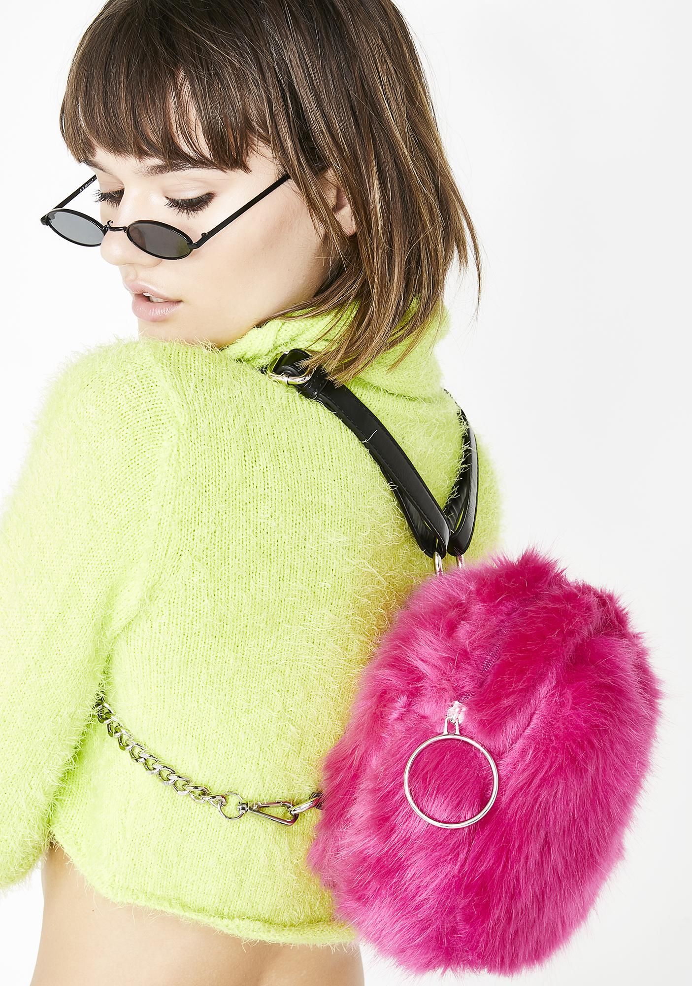 Current Mood Sweeter Than Ever Furry Backpack