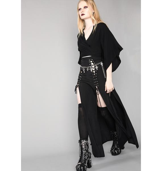 Widow Dark Eternity Maxi Skirt