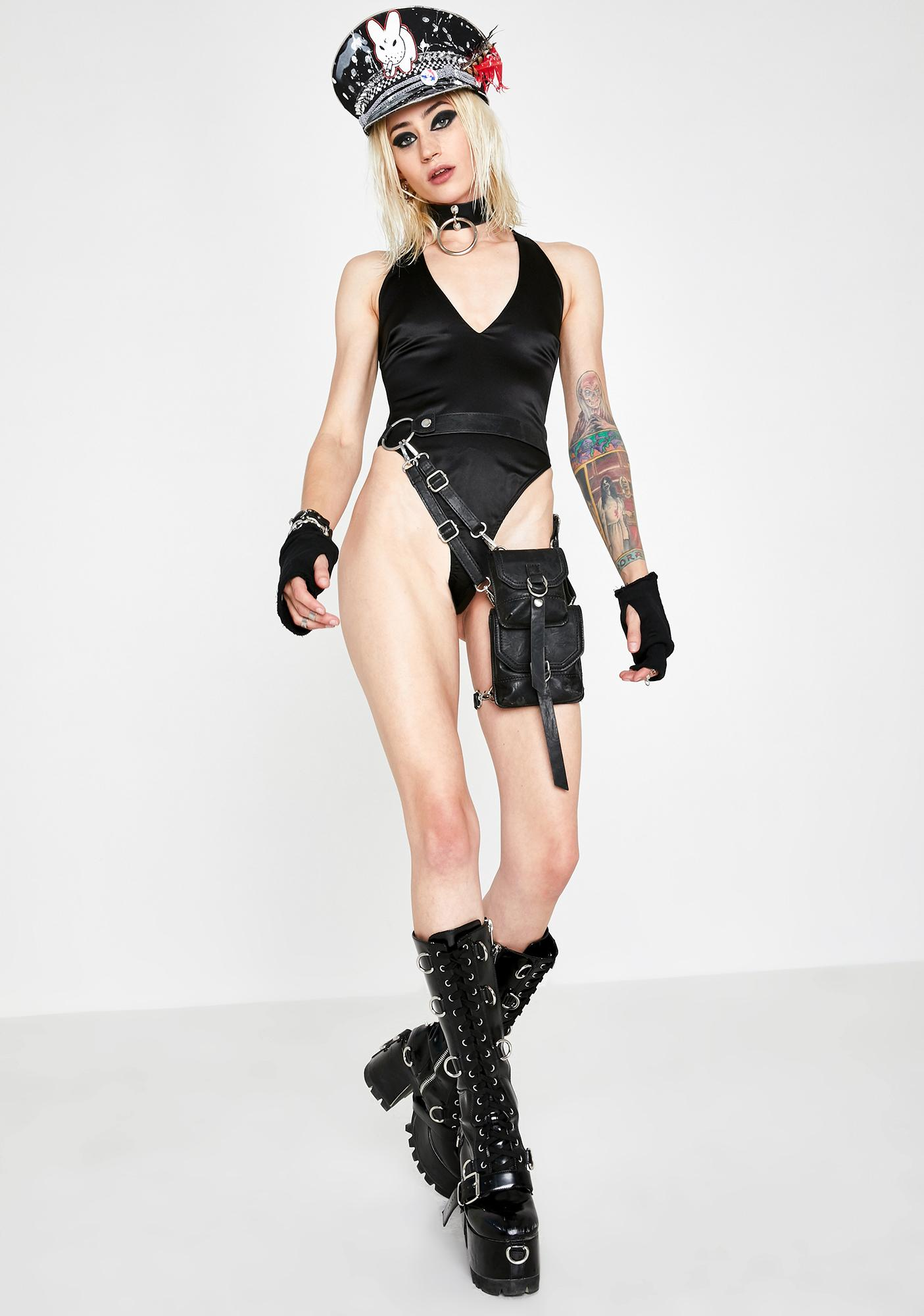 Want It? Halter Bodysuit