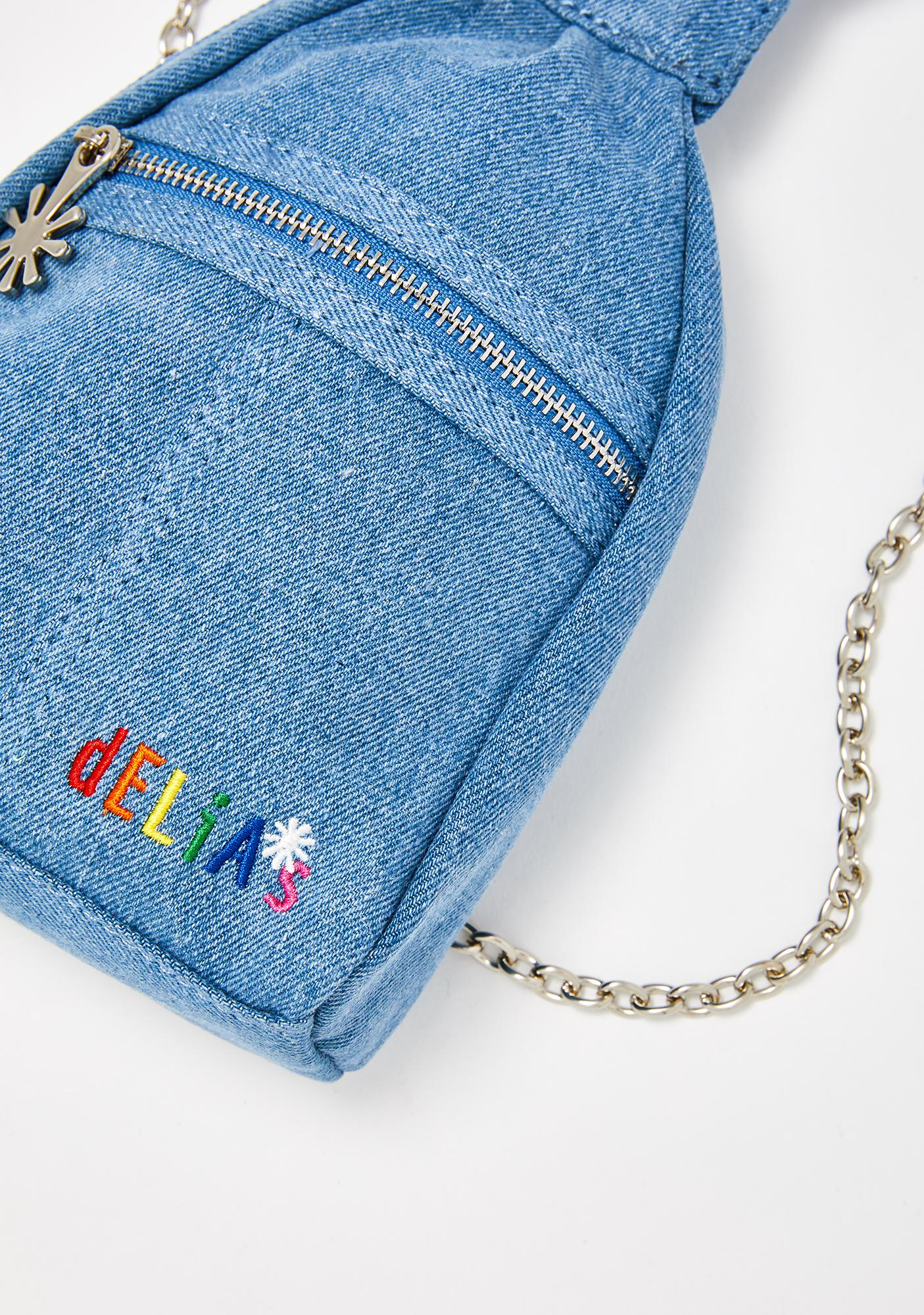 dELiA*s by Dolls Kill Totally Clueless Denim Backpack