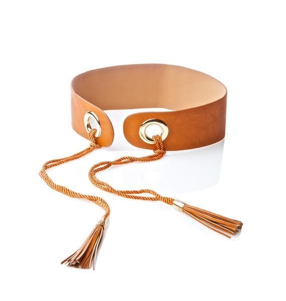Sand Get Around Tassel Waist Belt