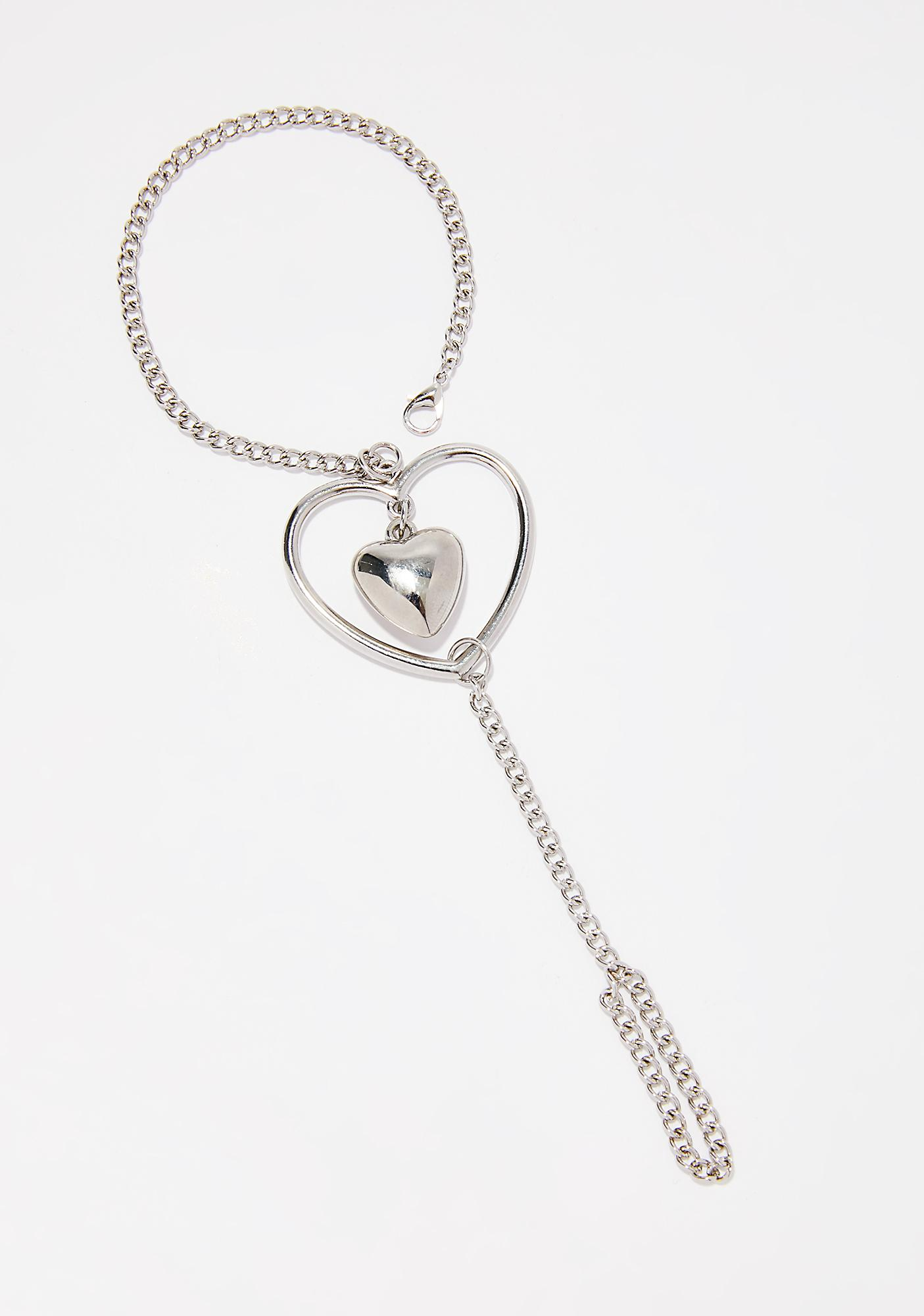 Heartbeat Hand Chain