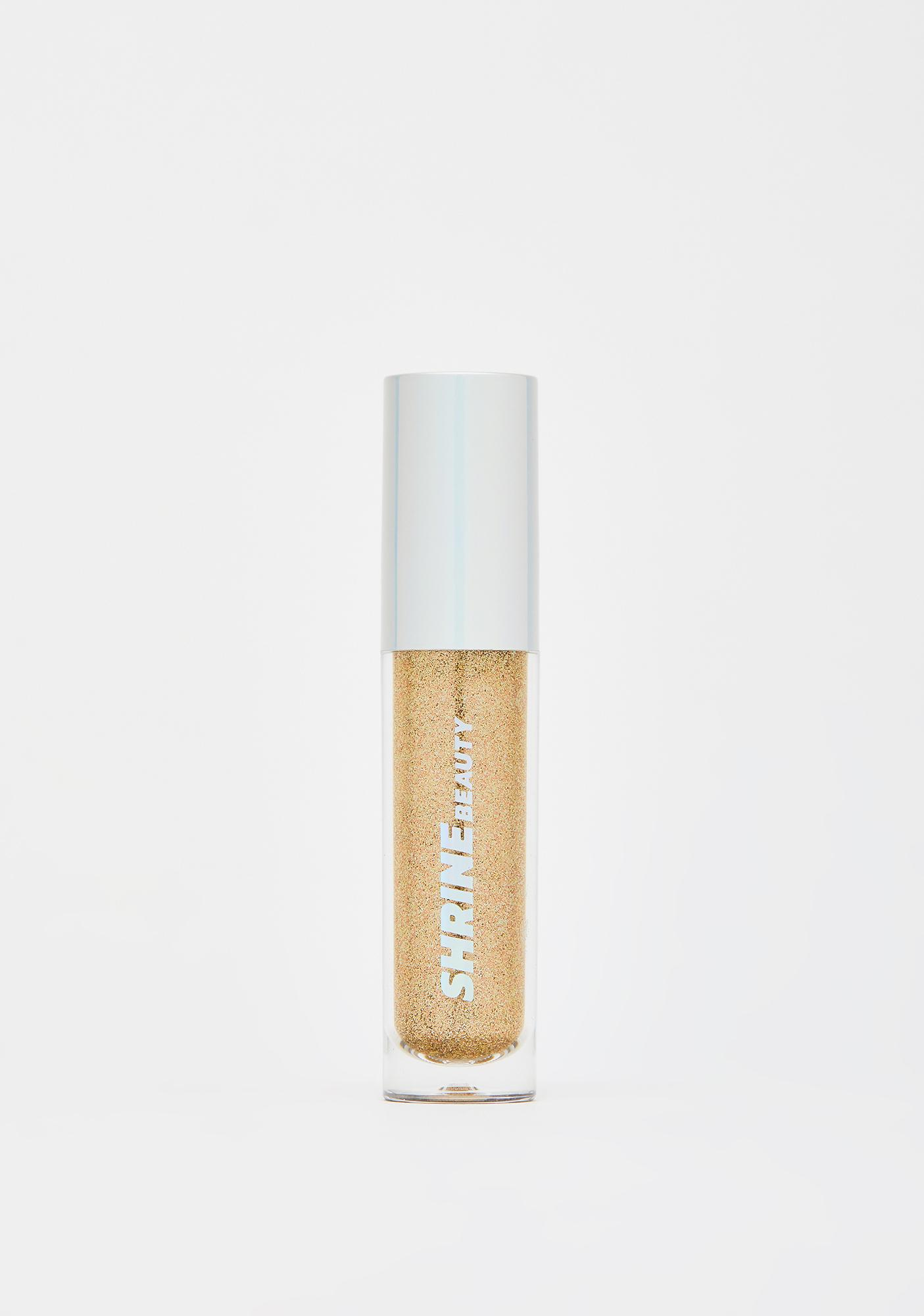 Shrine Gold Glitter Lids Liquid Eyeshadow