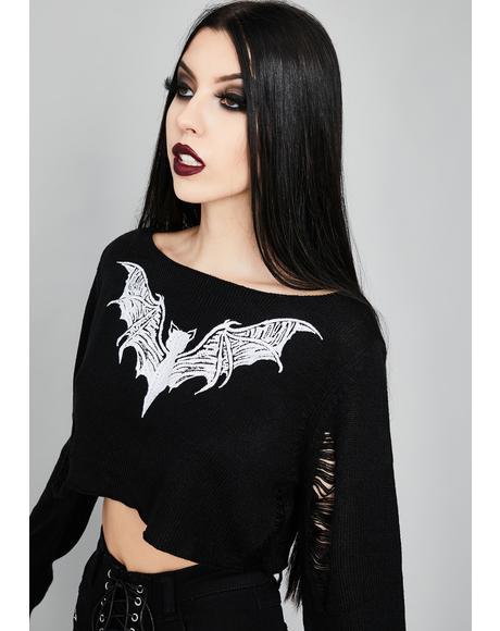 Kindred Spirits Crop Sweater