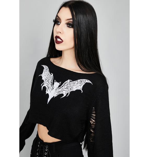 Widow Kindred Spirits Crop Sweater