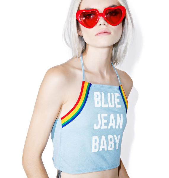 Camp Collection Blue Jean Bralette