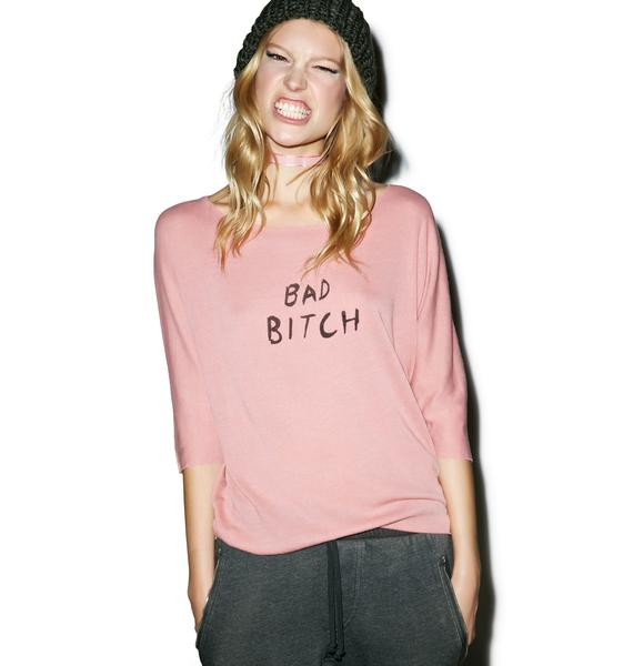 Wildfox Couture Bad Bitch Sailboat Top