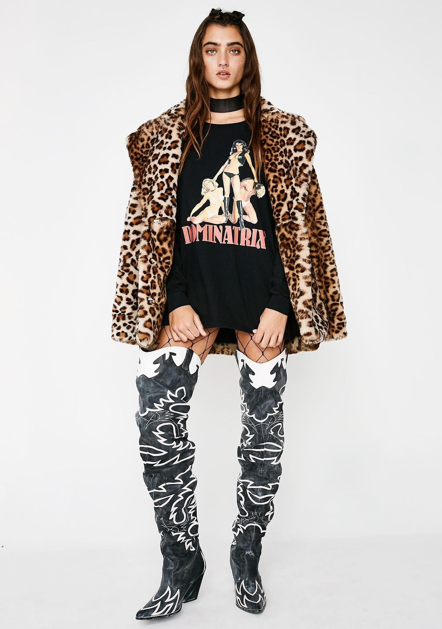 These Americans Dominatrix Long Sleeve Tee