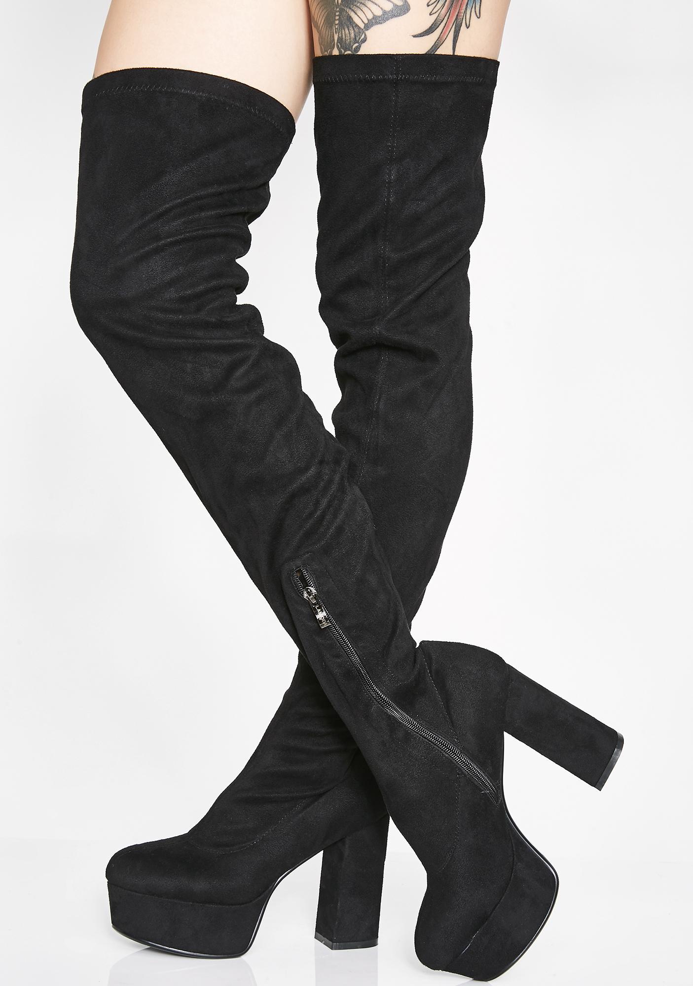 Lamoda Supplyin' Sass Thigh High Boots