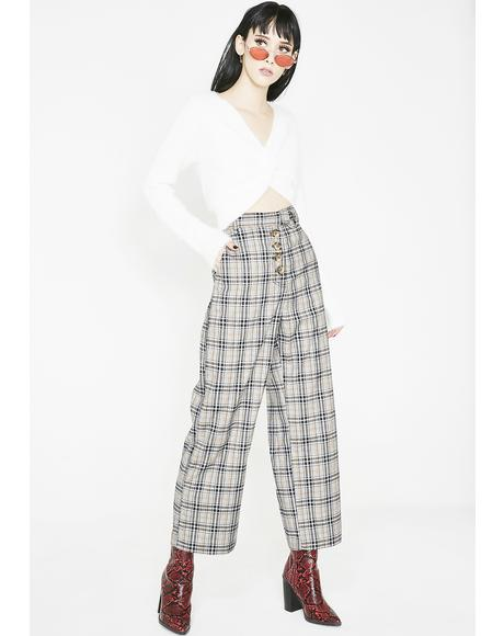 Funemployment Plaid Trousers