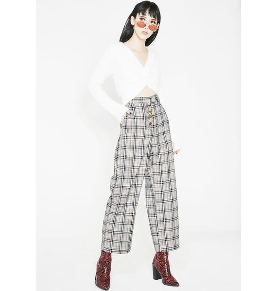 Funemployment Plaid Trousers