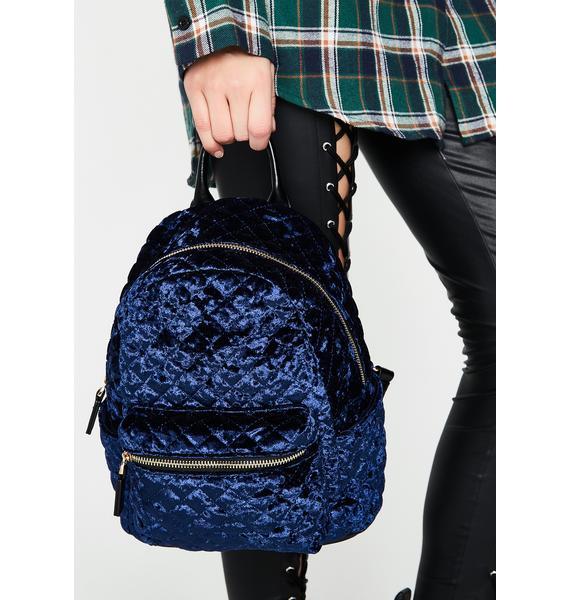 Soft Soul Velvet Backpack