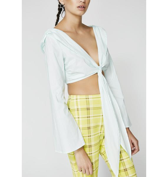 Knot For You Crop Top