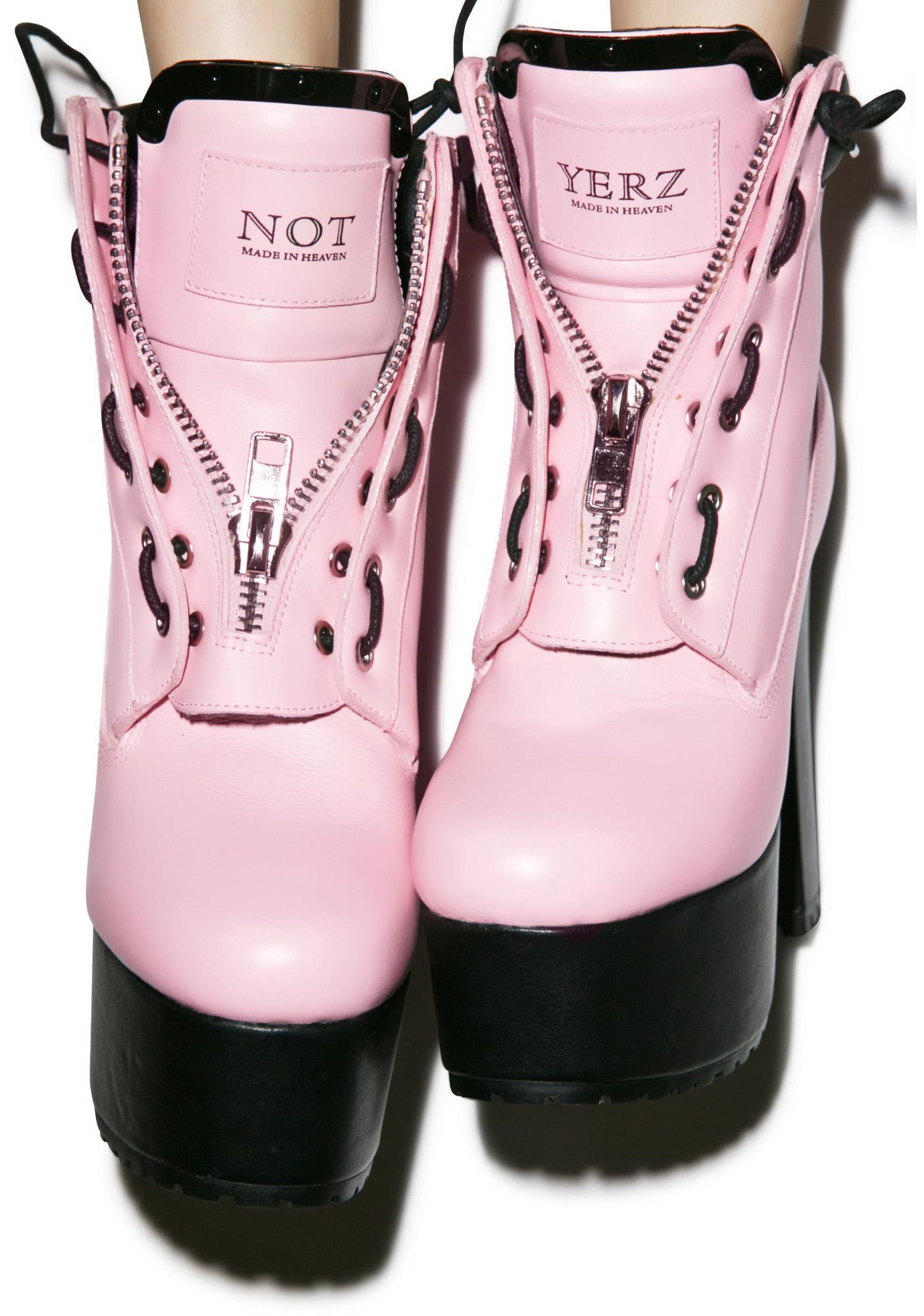 Current Mood Not Yerz Prophecy Platform Boots