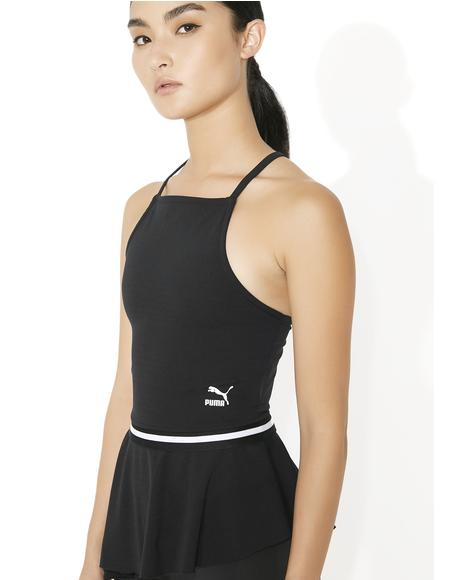Xtreme Tight Frilled Tank Top