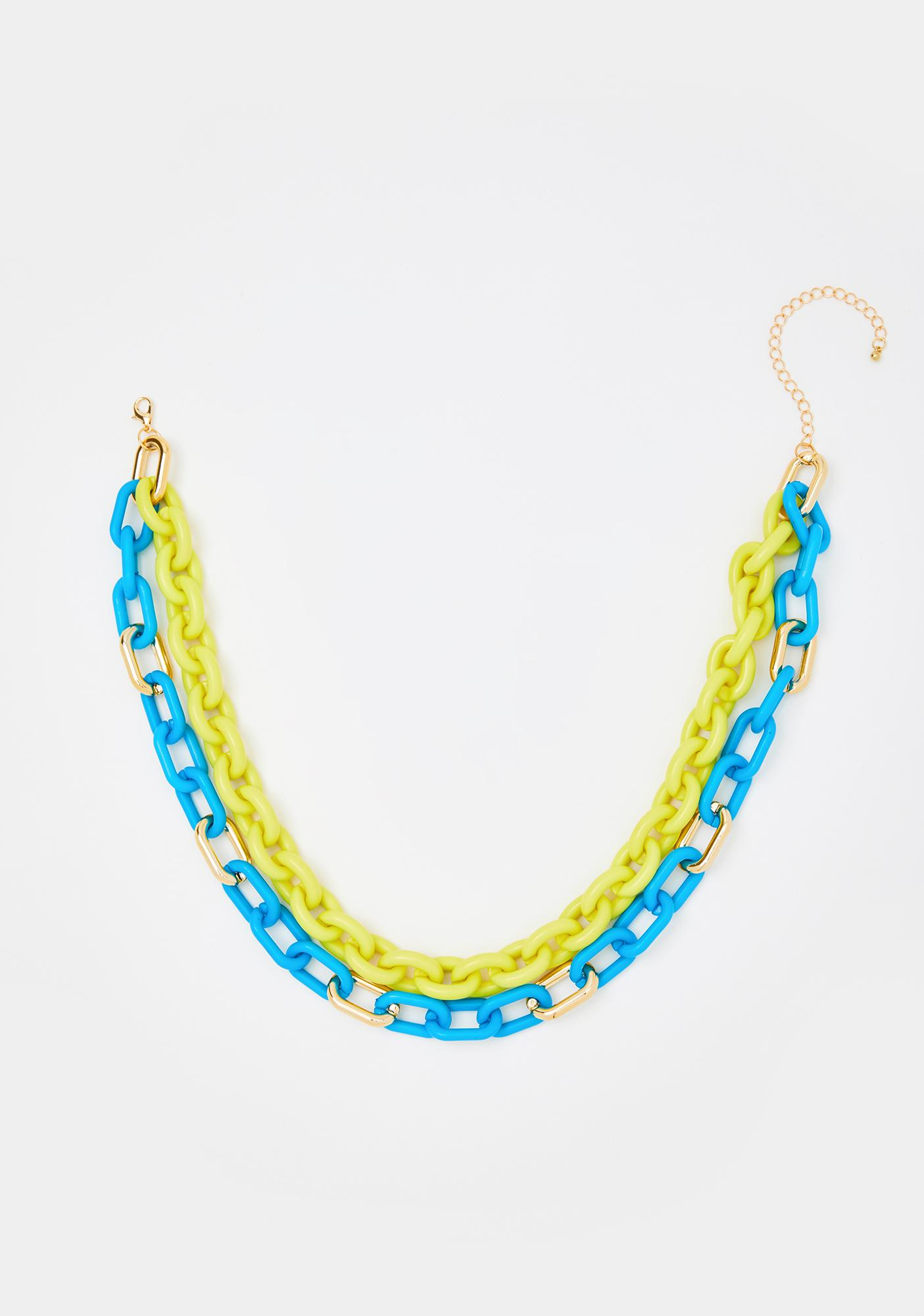 Electric Ex Chain Necklace