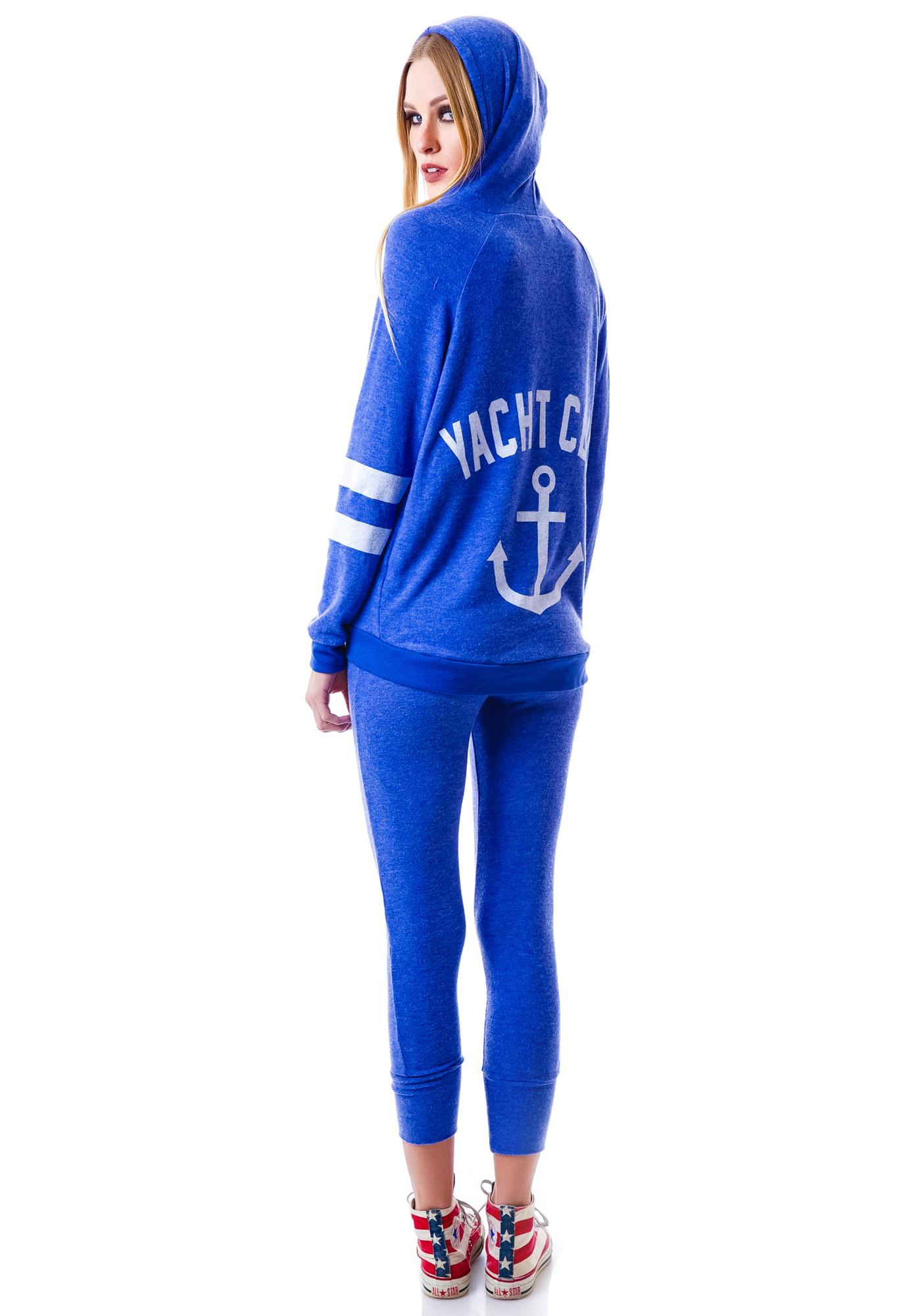Yacht Club Zip Up Hoodie